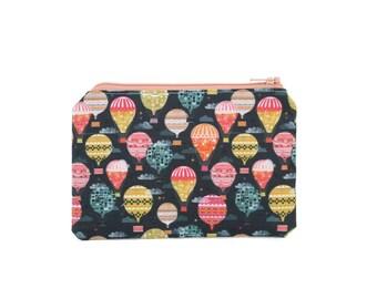 Hot Air Balloon Pouch / Lift Me Up Bag / Cute Hot Air Balloon Wallet