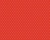 30% OFF Ardently Austen by Amanda Herring Red Floral - 1/2 Yard
