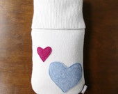 Valentines Day Gift for Her. Cashmere Hot Water Bottle Cover. Gifts for Mom. Cashmere Hot Water Bottle Cozy. Eco-Friendly Gifts for Grandma