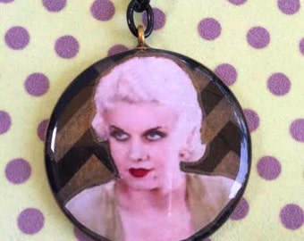 Jean Harlow Pendant Necklace