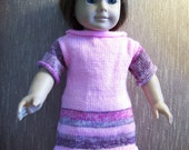 A lovely pink dress for the American Girl Doll