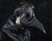 Stiltzkin leather plague doctor mask