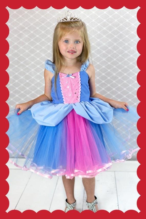 CINDERELLA  dress, Cinderella costume,  Princess dress, Cinderella TUTU dress, Cinderella party dress, toddler girl costume, SALE