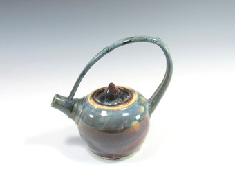 Teapot - Tea Pot - Whimsical Teapot - Tea Time - Housewares - Serving - Home Decor - Handmade Pottery
