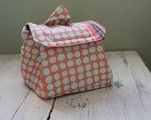Patchwork Padded Camera Bag Insert by Watermelon Wishes Ready to Ship
