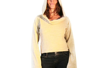 Desert Sands Hoodie - Cotton Eco Earth Shirt, Everyday Lounge Wear