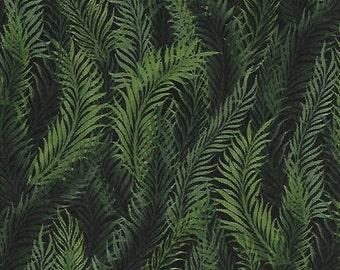 Feather Fern Green Dreamweaver Blender Jason Yenter Fabric 1 yard