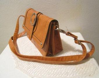 Leather Organizer Wallet Purse Small Shoulder Bag, Clutch