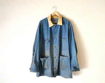 "1960's Sears ""Union Made"" Denim Chore Jacket"