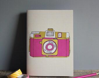 Holga Camera Notebook A5 - Recycled Paper