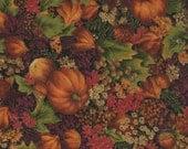 "Autumn Print Fabric - Cranston Print Works - 42"" Piece"