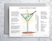 Project Martini - Blank Architecture Construction Card