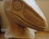 Latex Raptor Mask Fursuit - dinosaur, jurassic park,