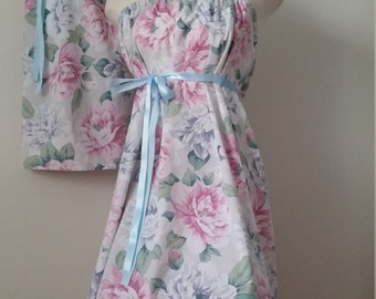 Mother Daughter Matching Dresses Mommy & Me Dresses Matching Outfits Summer Dresses Floral Dresses. Vintage Pastel Mom Baby vintage dresses