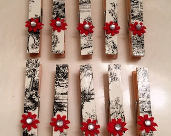 Card Holder, Package Topper, Bag Closer, Banner, Clothes Pin, Decoration, Holiday, Gift Wrap, Scrapbook, Embellishment, Bow, Ornament, DIY