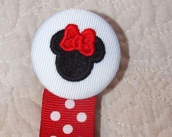 Mini Mouse Boutique Custom Monogrammed Personalized Pacifier Clip Leash