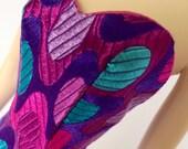 Silkstone Barbie Dress - Silkstone Sheath, Pure Silk - Bombshell (Purple)