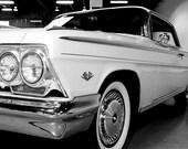 1962 Chevrolet Impala Car Photography, Automotive, Auto Dealer, Classic, Muscle, Sports Car, Mechanic, Boys Room, Garage, Dealership Art