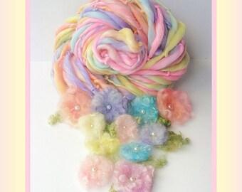 Handspun Yarn - Merino Bamboo Silk