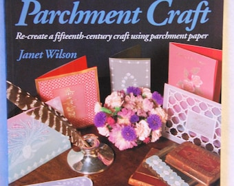 Parchment craft - 2nd hand book