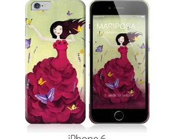 Phone Case - Mariposa - iPhone 5 - iPhone 5C - iPhone 6 - Samsung Galaxy