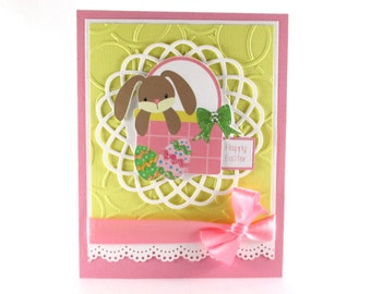 1st Easter cards, first Easter cards, kids Easter cards, Easter cards for girls, baby girls, happy Easter, childrens Easter card