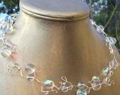 Bubbles Choker and Earrings Set