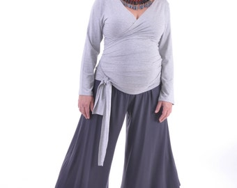 Triangular maternity pants-Yoga pants-women bottoms-XS-XXXL-Made to order-Maternity clothes
