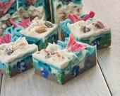 Tale of a Mermaid Handmade Cold Process Aloe Silk Soap