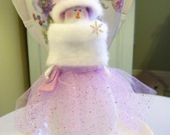 MADE TO ORDER....Snow Ball Dance....Lavender