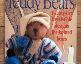 1997 knitting patterns Debbie Bliss knitted bears 25 designs toy children