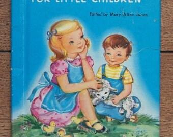 vintage 40s/50s junior elf  book PRAYERS For LITTLE CHILDREN boys girls