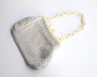 1940s Alumesh Whiting and Davis Purse