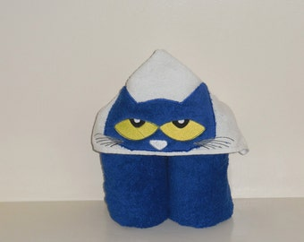 Hooded Towel- Cat