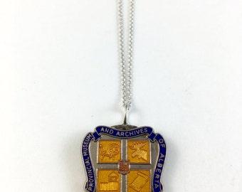 Edmonton Canada, Edmonton Jewelry, Edmonton Gift, Alberta Canada, Spoon necklace, Spoon Jewelry, Wife Gift Edmonton Charm, Edmonton Necklace