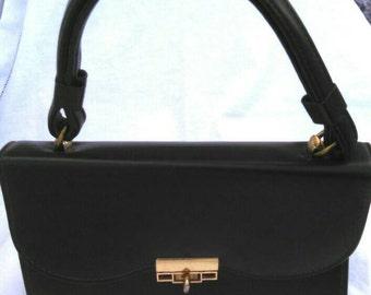 Vintage 1940-1960 made in USA by Jaclynette; handbag, clutch, purse