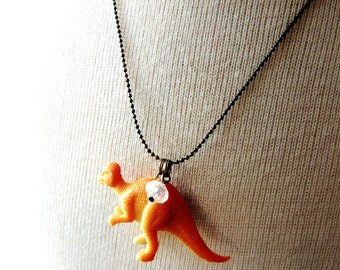 Dinosaur Necklace Dino Necklaces Jewelry Geekery Geek Birthday Party Favors Fun Jewelry Gift Little Girl Accessories