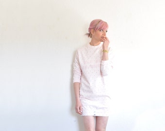 pastel pink mad max top . 1980 workout or...sleep wear .medium.large .sale s a l e