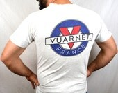 Vintage 1992 90s VUARNET FRANCE SKATE T-Shirt Surfer Tee Shirt