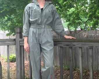 Green Khaki Jumpsuit