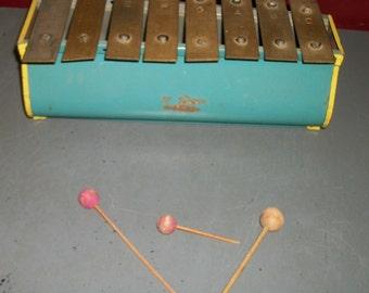Tudor Child's Xylophone Toy
