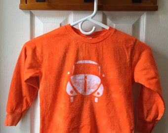 Kids Car Shirt, Orange Car Shirt, Kids Beetle Shirt, Boys Car Shirt, Girls Car Shirt, Kids Volkswagen Shirt, Orange Beetle (4/5)