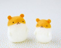 Unique needle felt hamster related items Etsy