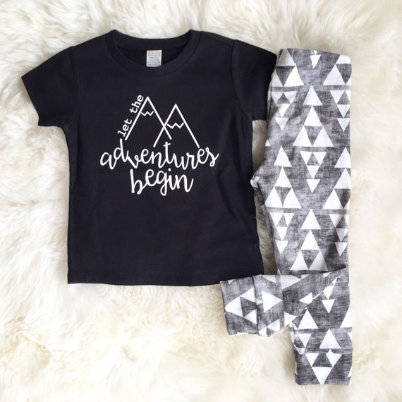 Adventure t shirt cute boy clothes baby by