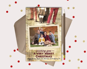 Rustic  Christmas  Cards  · 2 pictures · Vintage Blend Feet photo · Rustic printable cards