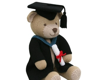 Graduation Gown Outfit - Knit a Teddy