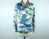 1960's Island Shirt by Albee - Perfect Condition