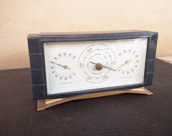 Vintage Airguide Art Deco Desktop Weather Station (Barometer Humidity Temperature)
