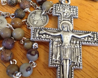 The Prayer of Saint Francis of Assisi Rosary