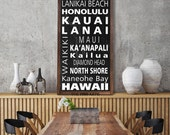 CREATE YOUR OWN Custom Bus Scroll, Personalized  Word Art Print on Wood Subway Signs, Industrial Décor Destinations Distressed Sign